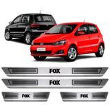 Soleira Aço Inox Volkswagen Fox 2012 2013 2014 2015 2016