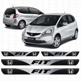 Soleira Resinada Personalizada para Honda Fit