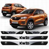 Soleira Resinada Personalizada para Renault Kwid