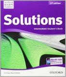 Solutions - Intermediate - Students Book - 02 Ed - Oxford