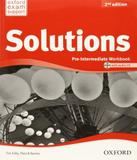 Solutions - Pre-intermediate - Workbook With Cd-rom - 02 Ed - Oxford
