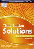 Solutions upper intermediate sb - 3rd ed - Oxford university