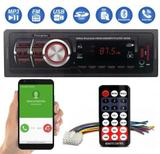 Som Automotivo 8850b MP3 BT FM USB SD AUX Controle Remoto - First Option