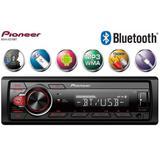 Som Automotivo Radio Mp3 Para Carro Pioneer Mvh-S218bt Bluetooth USB Aux