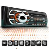 Som de carro MP3 Bluetooth USB Onix Prisma Joy Spin Cobalt Com controle - Uberparts