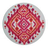 Sousplat de madeira tie-dye rosa - Btc decor