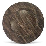 Sousplat redondo madeira 33cm - homecook