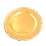 Sousplat redondo ouro c/6 Und: 1311689 - Cromus
