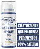 spray de calêndula 20% 120ml 2 frascos, cicatrizante - Venceslaufarma