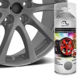 Spray Envelopamento Liquido Prata 400ml Multilaser Au423 Plástico Metal Lataria Rodas