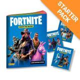 Starter Pack Fortnite - Livro Ilustrado + 20 envelopes - Panini