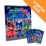 Starter Pack PJ Masks - Álbum + 20 envelopes - Panini