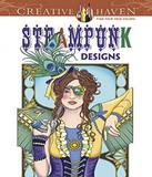 Steampunk Designs - Creative Haven Coloring Books - Dover publications