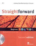 Straightforward beginner wb with audio cd  key - 2nd ed - Macmillan