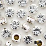 Strass Costura - Prata Cristal - SS20 / 4,6mm - 100 un - Tok bijouxs