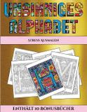 Stress Ausmalen (Unsinniges Alphabet) - Arts and crafts for kids ltd