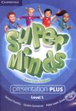 Super minds american english 1 presentation plus dvd-rom - 1st ed - Cambridge audio visual  book teacher