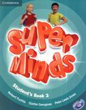 Super minds british 3 sb with dvd-rom - 1st ed - Cambridge university