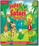 Super safari 1 american english sb with dvd-rom - Cambridge