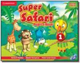 Super safari 1 pb with dvd-rom - british - Cambridge