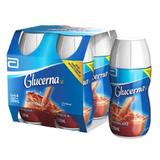Suplemento Glucerna Tetra Chocolate - 4 x 200ml - Abbott