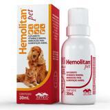 Suplemento Hemolitan Pet -30ml - Vetnil