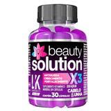 Suplemento Vitaminico para Cabelo e Unha Lokenzzi - Beauty Solution