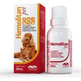 Suplemento Vitamínico Vetnil Hemolitan Pet Gotas 30 ml