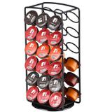 Suporte organizador de capsulas de cafe expresso estante com rotação para 36 capsulas doce gusto nes - Faça  resolva