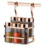 Suporte P/ Temperos/Condimentos 7 Pecas - Rosé Gold - FT2808RG - Future