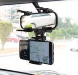 Suporte Para Celular Veicular Espelho Retrovisor De Carro Mtg-003 - Tomate