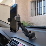 Suporte Para Celular Vidro Carro Smartphone Anti Queda Fixo - Xie xie