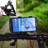 "Suporte Universal GPS,Celular,Tablet 7"" Bike, Moto, Quadriciclo Preto CBRN0043 - Commerce brasil"