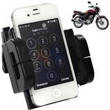 Suporte Universal GPS,Celular,Tablet para Motocicleta, Quadriciclo Preto CBRN0074 - Commerce brasil