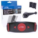 Suporte Universal Veicular de Tablet LE-011 Lelong Para Encosto de Cabeça de Carros Vermelho