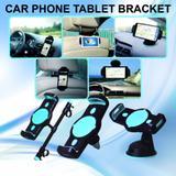 Suporte veicular de celular e tablet 3 in 1 completo - H'maston
