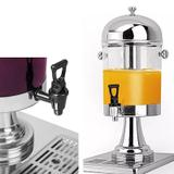 Suqueira Dispenser Suco 8 Litros  Juice Aco Inox Empresa Hotel Bar (AL-00052) - Manzeks