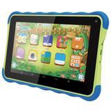 "Tablet Amvox Kids ATB 441K, 7"", Android 4.4, 1.3MP, 8GB - Preto/Verde"