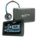 Tablet Android 4.2 Hot Wheels com Headphone - Tela 7 Multi-Touch e 8GB - Candide