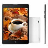 "Tablet DL Horizon Lite Tela 7.85"" IPS Internet 3G e Wi-FI   Bluetooth 1GB 8GB Android"