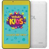 """Tablet DL Kids C10 TX394 8GB Wi-Fi Tela 7"""" Branco"""