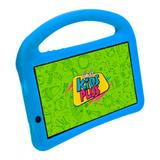 "Tablet DL Kids Plus 7"" 8GB Wi-Fi Quad Core c/ Capa Azul - Dl eletrônicos"