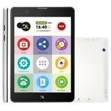 Tablet DL TabFácil, 8GB, Sigle Chip, 3G, Wi-Fi, Bluetooth - TX385BRA