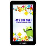"Tablet Hyundai HDT-7427GU Dual SIM Wi-Fi 8GB de 7.0"" 2MP/0.3MP OS 8.1 - Preto"
