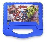 Tablet Infantil Multilaser Azul Disney Quad Core Dual Câmera