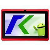 """Tablet Keen A78 Wi-Fi 8GB Tela de 7.0"""" 2MP/VGA OS 4.4.2 - Vermelho"""