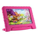 "Tablet KID PAD PLUS PINK Tela 7"" Android 7.0 NB279 PINK Multilaser"