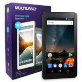 Tablet M7S Plus Multilaser NB298 Memória 16GB 7 Pol Wi-Fi Android 8.1 Quad Core Câmera 1GB RAM