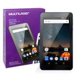 Tablet M7s Plus NB274 Multilaser Memória 8GB 7 Pol Wi-Fi Android 7 Quad Core Câmera 1GB Ram Azul