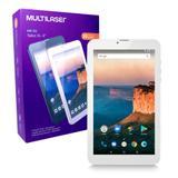 Tablet M9 3G NB284 Multilaser Memória 8GB 9 Pol Wi-Fi Android Oreo Quad Core Câmera 1GB Ram